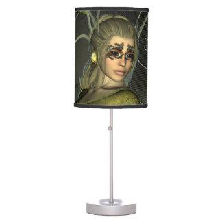 Wonderful fantasy women desk lamps