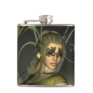 Wonderful fantasy women hip flask