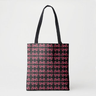 wonderful fashion print floral roses bouquet bag
