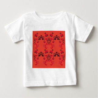 Wonderful Folk design Orange Baby T-Shirt