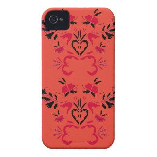 Wonderful Folk design Orange iPhone 4 Case-Mate Case