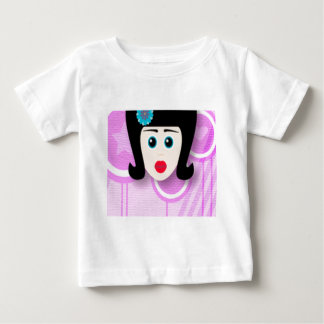 Wonderful girl design baby T-Shirt