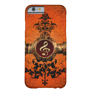 Wonderful golden clef barely there iPhone 6 case