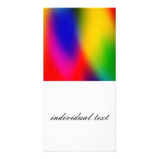 wonderful Gradients 01 colorful Photo Card