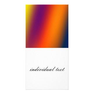 wonderful Gradients 02 Photo Card Template