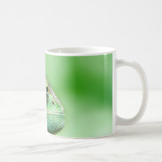 Wonderful Green Reptile Chameleon Coffee Mug