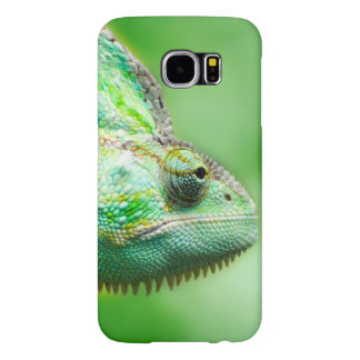 Wonderful Green Reptile Chameleon Samsung Galaxy S6 Cases
