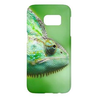 Wonderful Green Reptile Chameleon Samsung Galaxy S7 Case