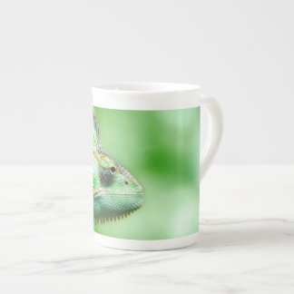 Wonderful Green Reptile Chameleon Tea Cup