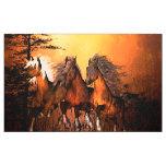 Wonderful horses fabric