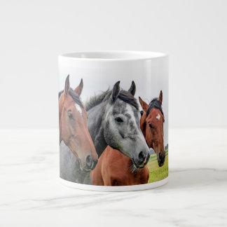 Wonderful Horses Stallion Photography Large Coffee Mug