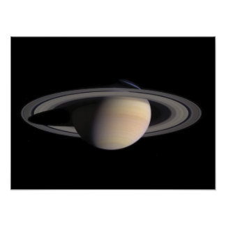 Wonderful image of Saturn, from NASA Poster