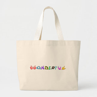 Wonderful Large Tote Bag