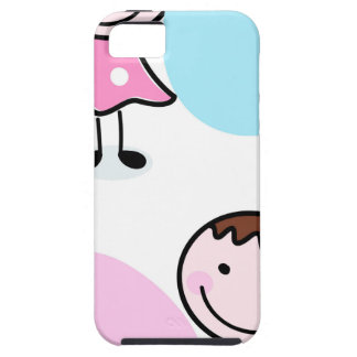 Wonderful little kids / creative t-shirts iPhone 5 cover