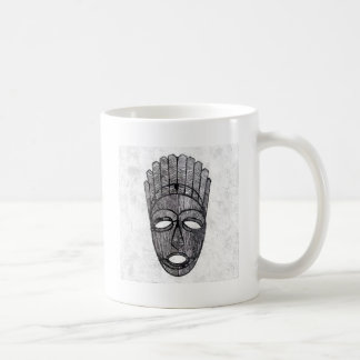 Wonderful Mask Classic White Coffee Mug