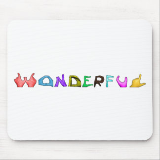 Wonderful Mouse Pad