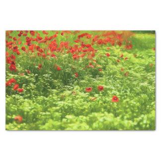 Wonderful poppy flowers V - Wundervolle Mohnblumen Tissue Paper
