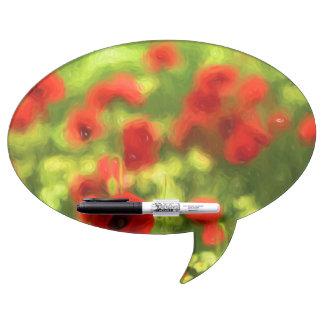Wonderful poppy flowers VI - Wundervolle Mohnblume Dry Erase Boards