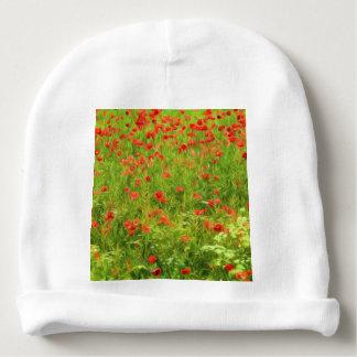 Wonderful poppy flowers VII - Wundervolle Mohnblum Baby Beanie