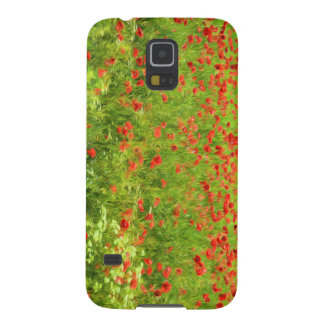 Wonderful poppy flowers VII - Wundervolle Mohnblum Case For Galaxy S5