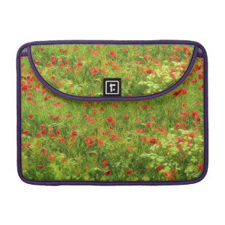 Wonderful poppy flowers VII - Wundervolle Mohnblum Sleeve For MacBook Pro