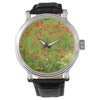 Wonderful poppy flowers VII - Wundervolle Mohnblum Wrist Watches