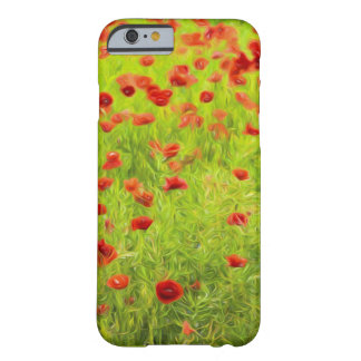 Wonderful poppy flowers VIII - Mohnbluhmen Barely There iPhone 6 Case