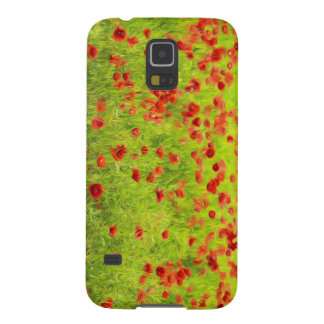 Wonderful poppy flowers VIII - Mohnbluhmen Cases For Galaxy S5