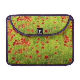 Wonderful poppy flowers VIII - Mohnbluhmen Sleeves For MacBook Pro