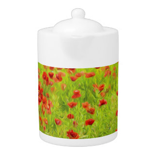 Wonderful poppy flowers VIII - Wundervolle Mohnblu