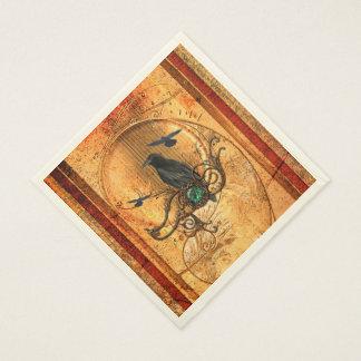 Wonderful raven disposable napkin
