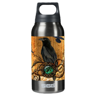 Wonderful raven insulated water bottle
