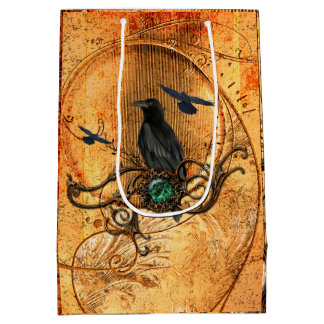 Wonderful raven medium gift bag