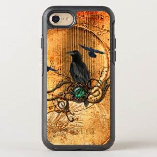 Wonderful raven OtterBox symmetry iPhone 8/7 case