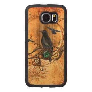 Wonderful raven wood phone case
