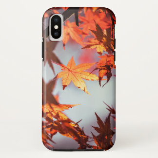 Wonderful Red Fall Autumn Leaves Maple Tree Case-Mate iPhone Case