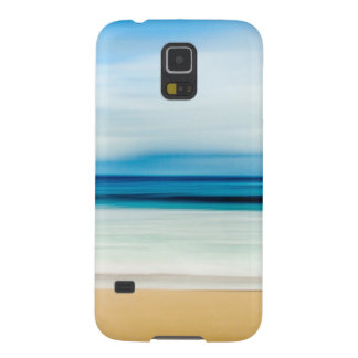 Wonderful Relaxing Sandy Beach Blue Sky Horizon Galaxy S5 Cover