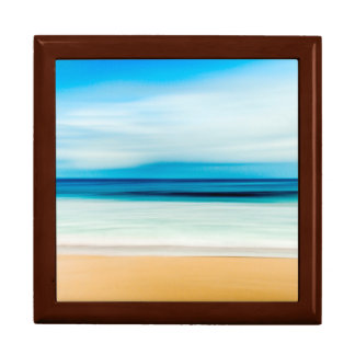 Wonderful Relaxing Sandy Beach Blue Sky Horizon Gift Box