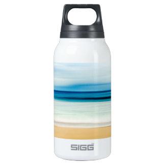 Wonderful Relaxing Sandy Beach Blue Sky Horizon Insulated Water Bottle