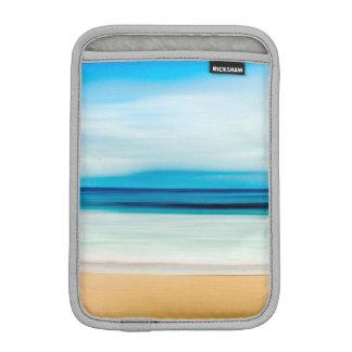 Wonderful Relaxing Sandy Beach Blue Sky Horizon iPad Mini Sleeve