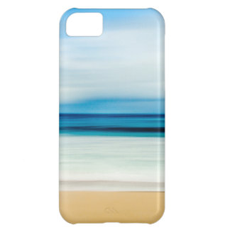 Wonderful Relaxing Sandy Beach Blue Sky Horizon iPhone 5C Covers