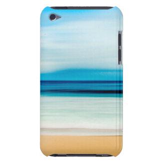 Wonderful Relaxing Sandy Beach Blue Sky Horizon iPod Touch Cover