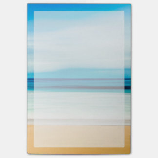 Wonderful Relaxing Sandy Beach Blue Sky Horizon Post-it® Notes