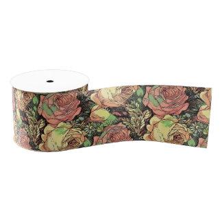 Wonderful Roses Grosgrain Ribbon