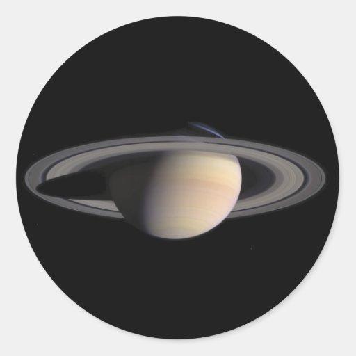 Wonderful Saturn Picture from NASA Sticker