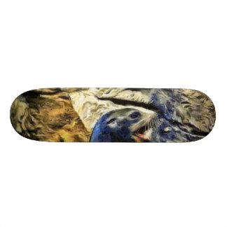 Wonderful Sea Lion Skate Board