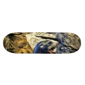 Wonderful Sea Lion Skate Board Deck