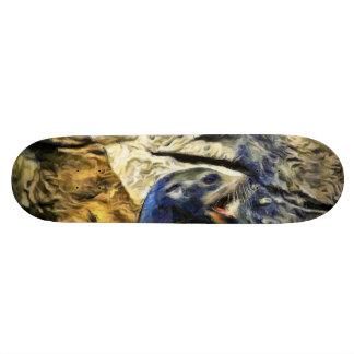 Wonderful Sea Lion Skate Deck
