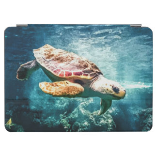 Wonderful  Sea Turtle Ocean Life Turquoise Sea iPad Air Cover