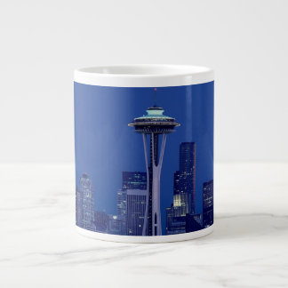 Wonderful Seattle Washington Downtown Space Needle Large Coffee Mug